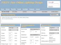 Fast Online LIghting Design